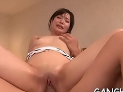 Exquisite japanese titty fuck