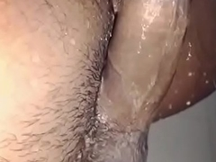 Desi Dick wash slowmotion