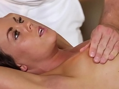 Lovely babe screwed at the massage parlor