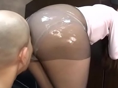 Jav secretary oiled pantyhose sex - Elitejavhd.com