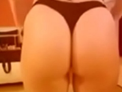my girlfirend showing her ass and pussy