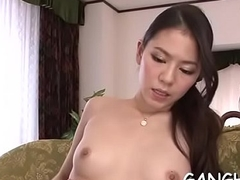 Hairy japanese playgirl