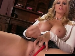 Stepmom Julia Ann Shows Stepson How To Jack His Cock Off!