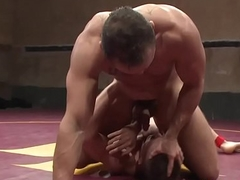 Come to blows dominating jock assfucking partner