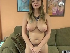 Horny wife Tonya Sinn shows off her awesome blowjob skills