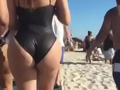 Big Butt Latinas at the Beach in Bikinis (Perv Patrol 10.19.17)
