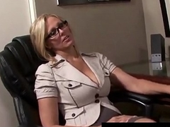 Award Winning Milf Julia Ann Gets Cum In Her Eye On The Job!