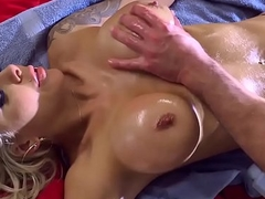 Brazzers - Dirty Masseur - Nina Elle Sean Lawless - Sitting on the Sitters Dick