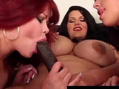 BBW Latina Angelina Castro Rubs Cunt With 2 Very Big Girls!