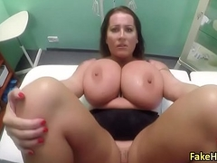 Doctor nailed massive tits BBW