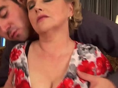 beamy hairy mom gets abandoned fucked