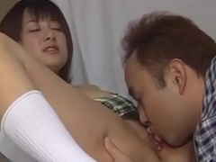 Charming Aizawa Satomi wants stud to give her multiple orgasms