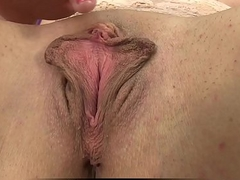 Loreen toys both her big pussy and ass