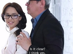 Tricky Old Teacher - Sweetie gives her teacher sex expiation