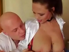 Busty Hotel Maid Domino