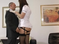 Mature brits box fingered