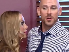 Brazzers - Big Tits at Work - (Nicole Aniston), (Johnny Sins) - Union Nutbuster